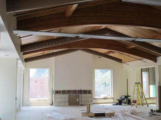 Finshed ceiling 2nd floor